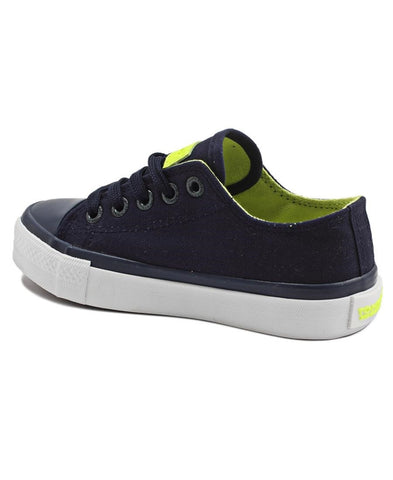 Boys Canvas Sneakers - Navy
