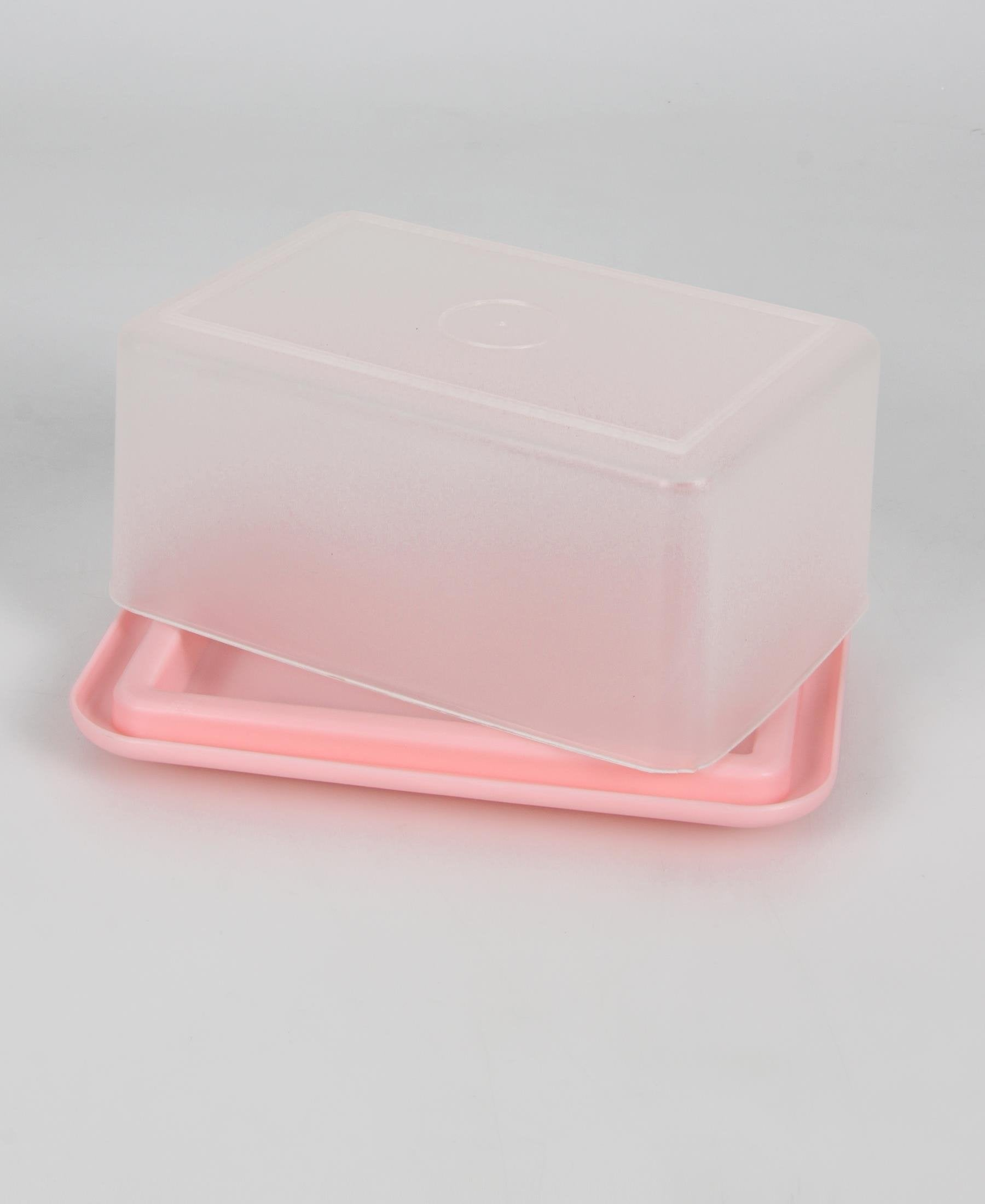 Butter Dish - Pink