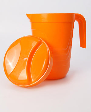 4 Litre Jug And Lid - Orange
