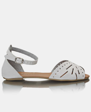Ladies' Casual Sandals - White