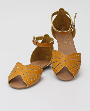 Ladies' Casual Sandals - Mustard