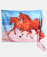 70X140cm Printed Beach Towel - Multi