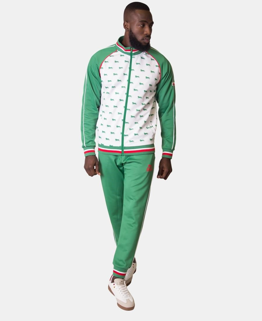 Lonsdale Tracksuit Jacket - Green