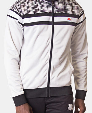 Lonsdale Tracksuit Jacket - Black-White