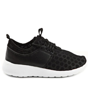 Boys Honeycomb - Black