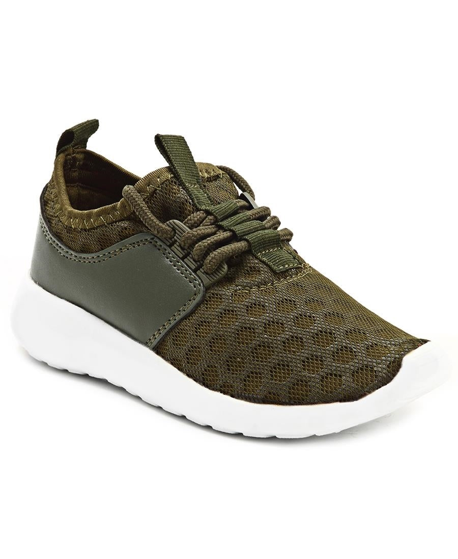 Boys Honeycomb - Green