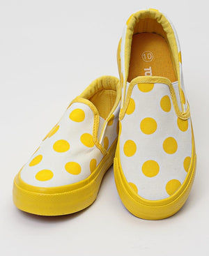 Girls Sneakers - Yellow