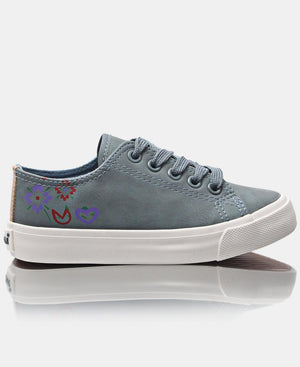 Girls Bloom Sneakers - Blue