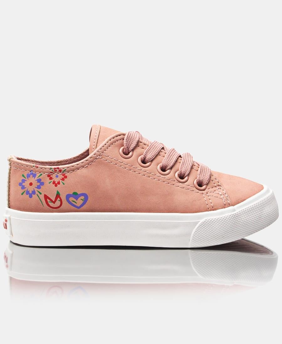Girls Bloom Sneakers - Mink