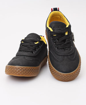 Infants Light Wing Sneakers - Black
