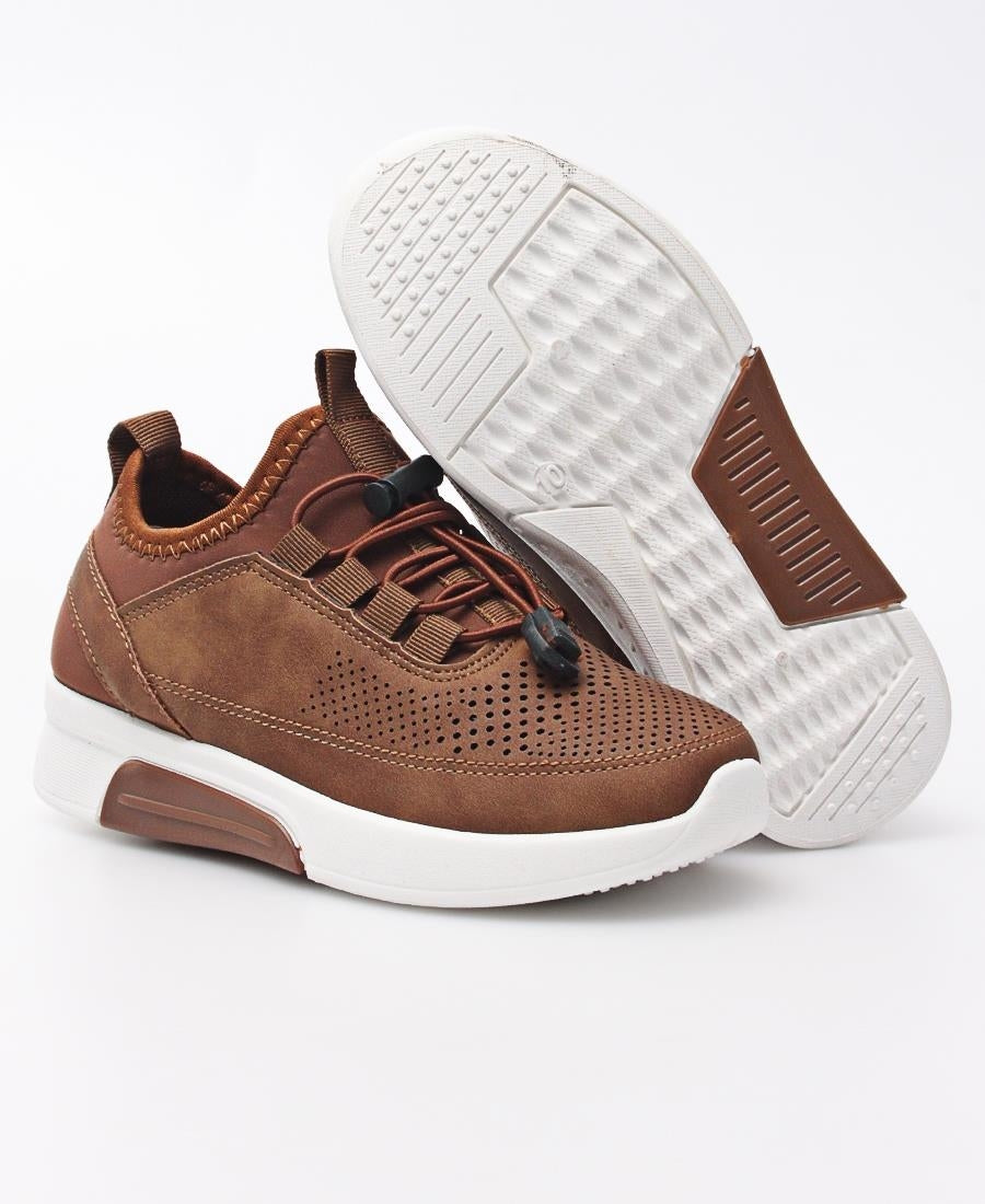 Kids Casual Sneakers - Tan