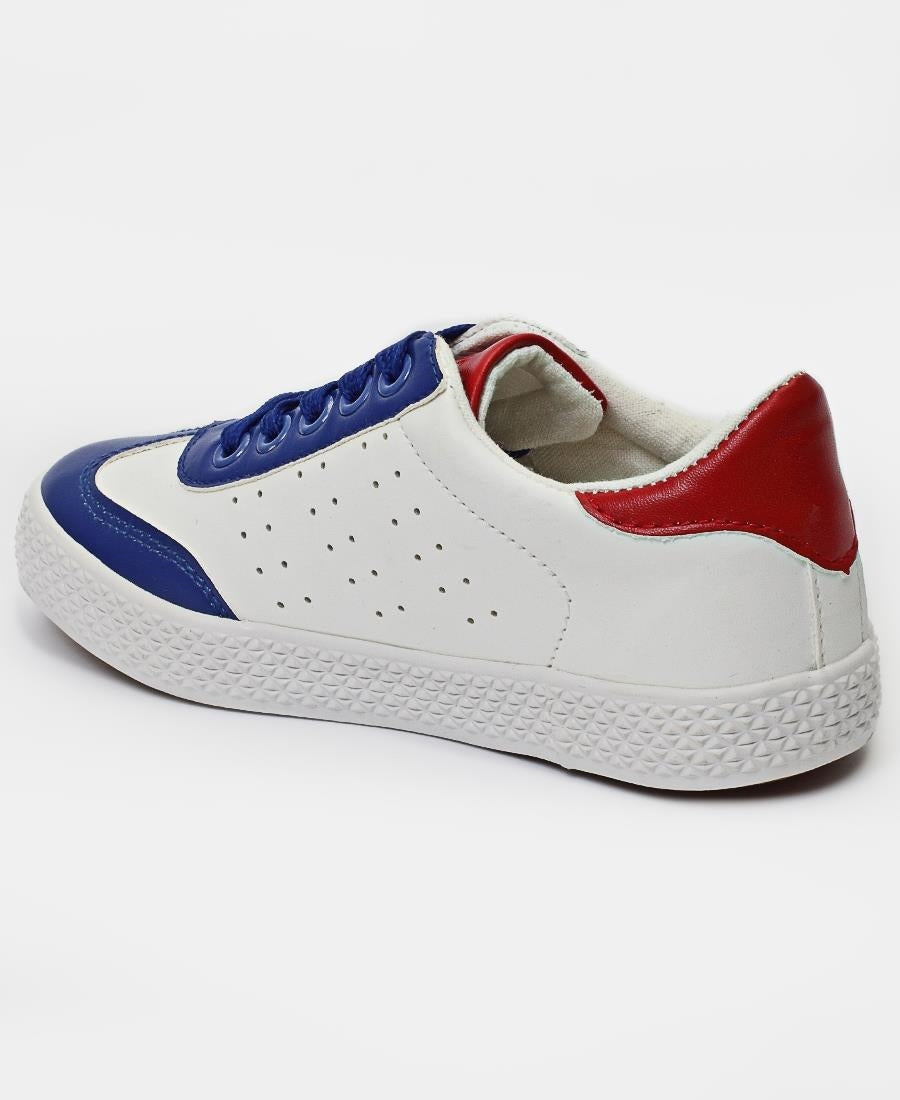 Boys Light Sneakers - White