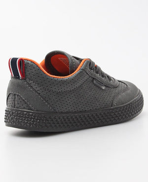 Kids Light Wing Punch Sneakers - Grey