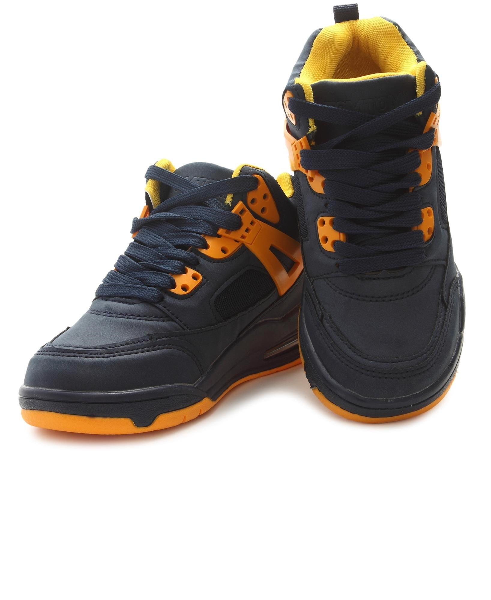 Kids Slash Boot Sneakers - Navy