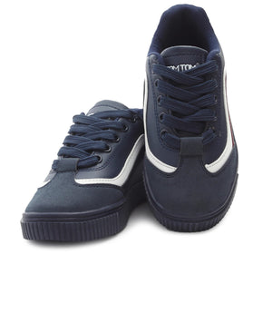 Kids Smooth Sneakers - Navy