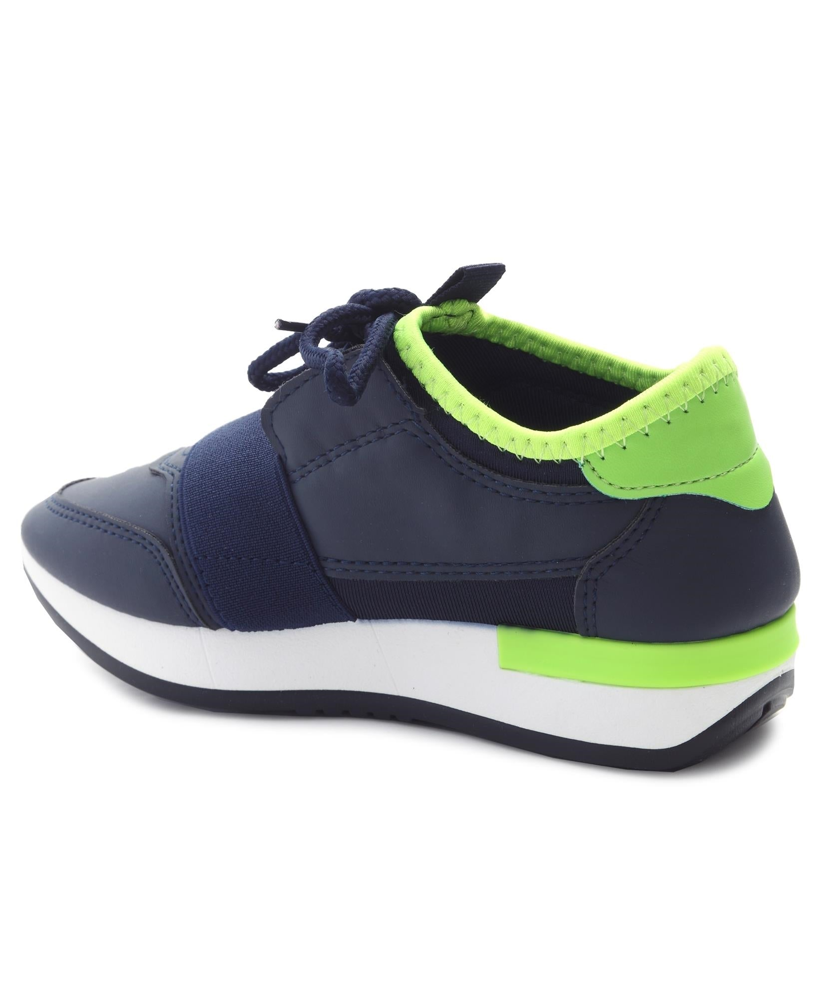 Girls Storm Funky Sneakers - Navy