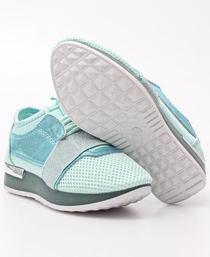 Kids Storm Sneakers - Blue