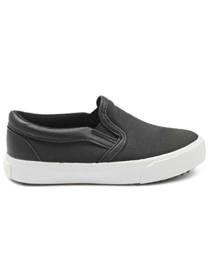 Kids Slip On - Black