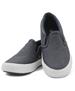 Kids Slip On - Navy