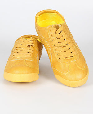 Ladies' Aura Sneakers - Mustard