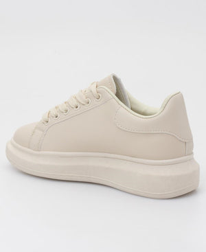 Ladies' Berlin Sneakers - Nude