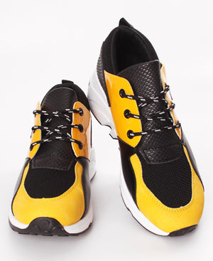 Ladies' Ease Sneakers - Mustard