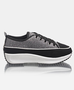 Ladies' Fire Sneakers - Black