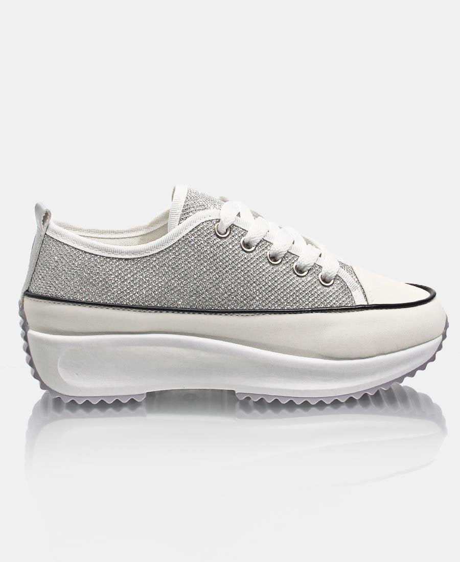 Ladies' Fire Sneakers - White