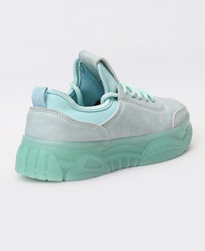 Ladies' Flava Sneakers - Mint