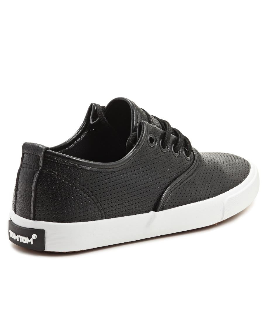 Casual Sneakers - Black-White