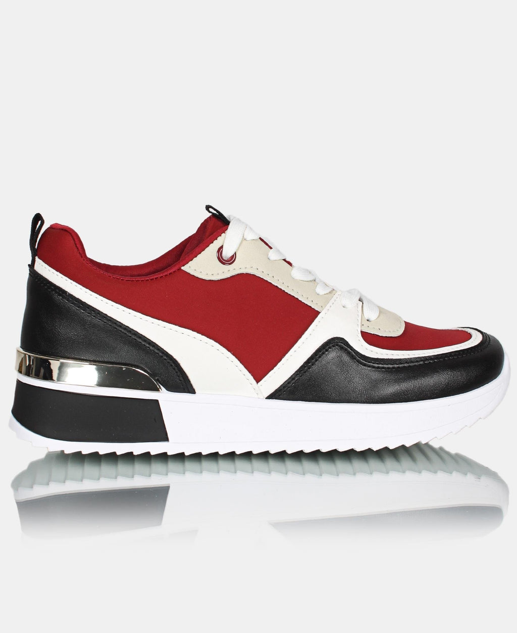 Ladies' Honey Sneakers V2 - Burgundy