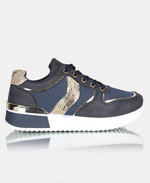 Ladies' Honey Sneakers V6 - Navy