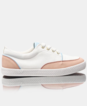 Ladies' Light Fusion Sneakers - White