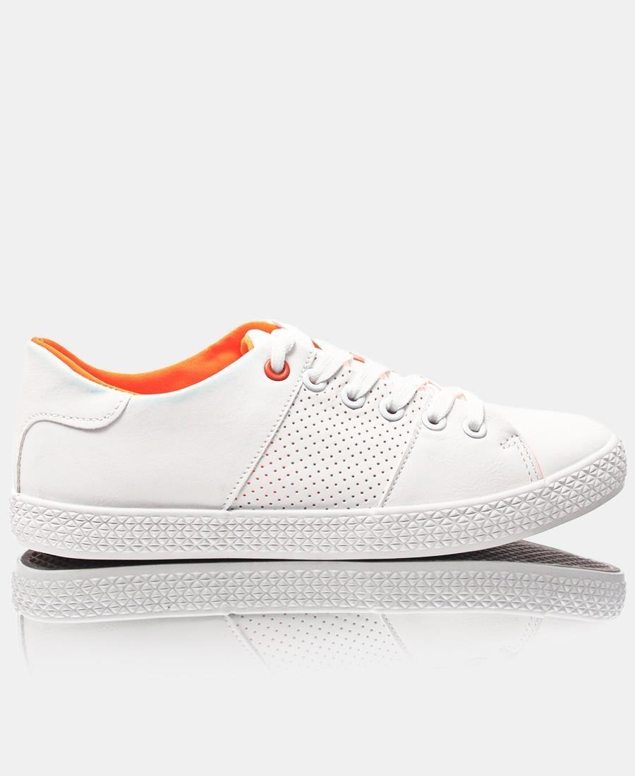 Ladies' Light Lumo Sneakers - White