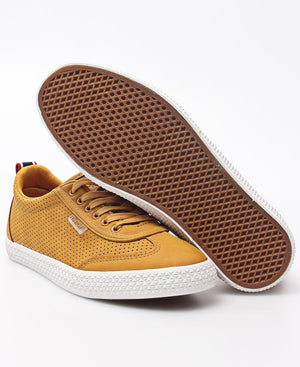 Ladies' Light Wing Punch Sneakers - Mustard