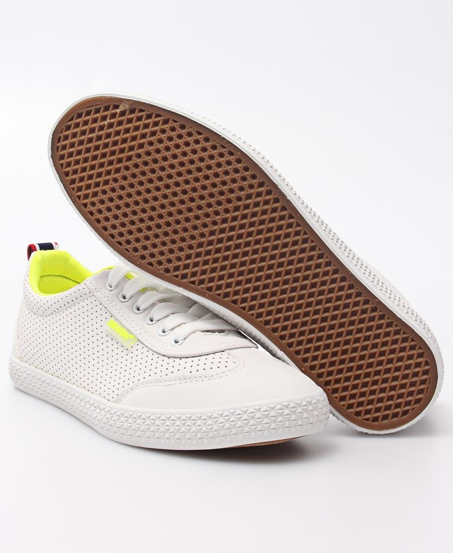 Ladies' Light Wing Punch Sneakers - White