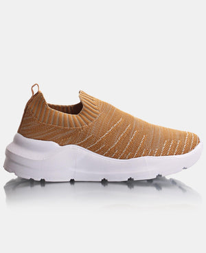 Ladies' Lunar Sneakers - Tan