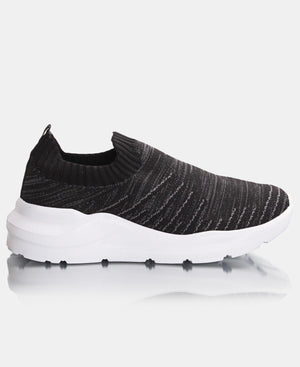 Ladies' Lunar Sneakers - Black