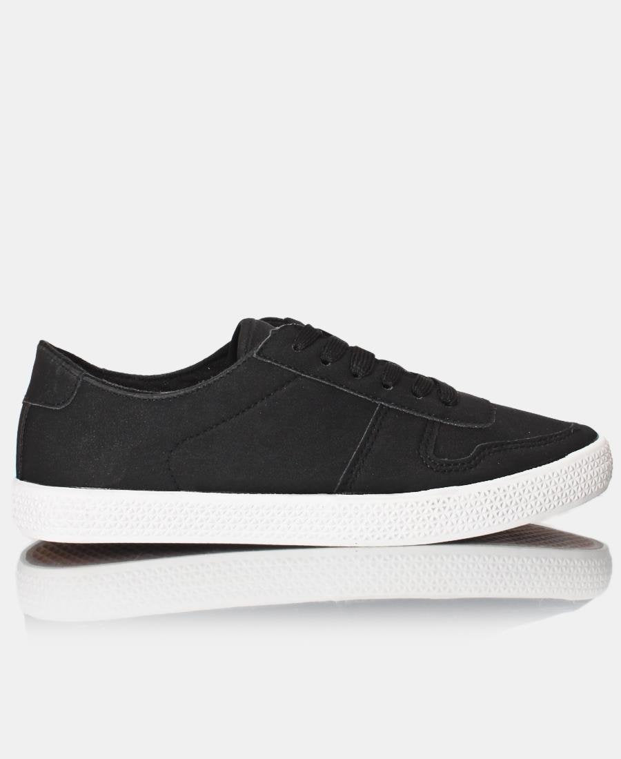 Ladies' Light Classic Sneakers  - Black
