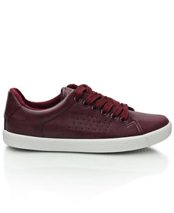 Light Low Sneaker - Burgundy