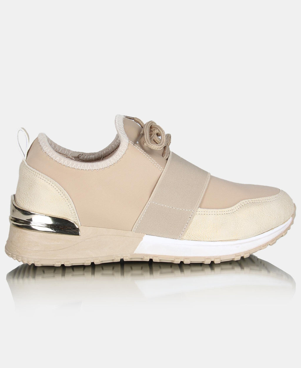 Ladies' Nova Madden Sneakers - Taupe