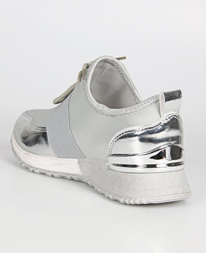 Ladies' Nova Madden Sneakers - Grey