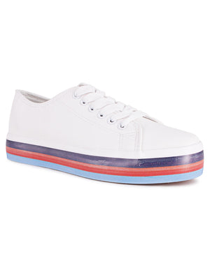 Ladies' Rave - White
