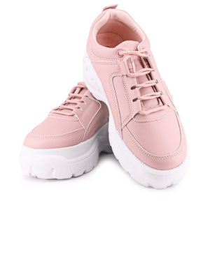 Ladies' Raw Sneakers - Mink