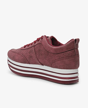 Ladies' Rock - Burgundy