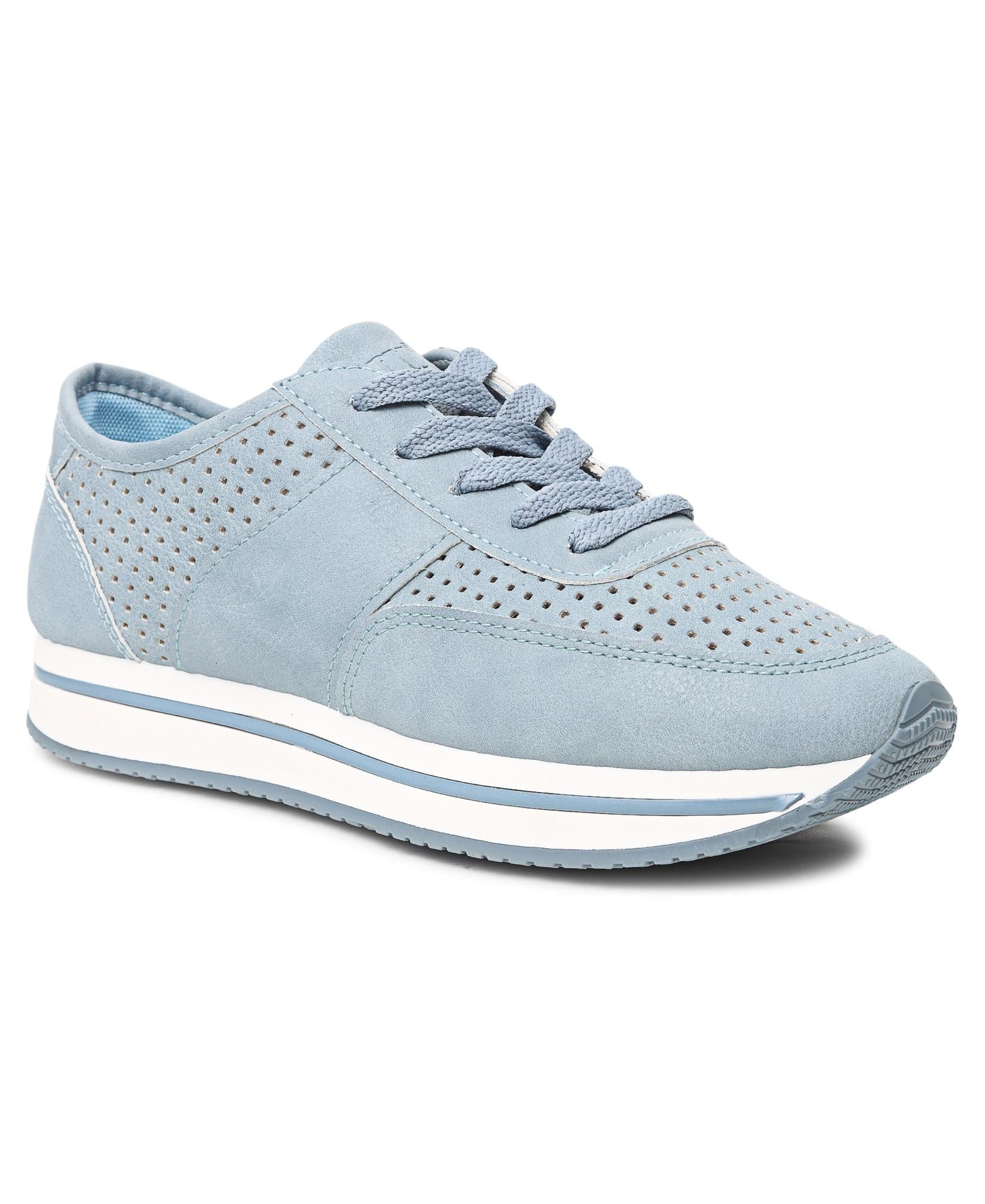 Ladies' Rock Low Punch Sneakers - Blue