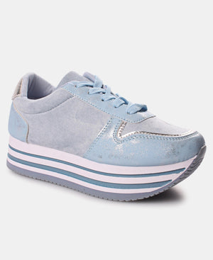 Ladies' Rock Micro Sneakers - Blue