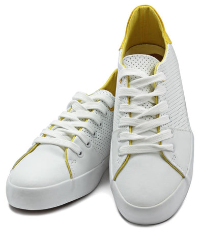 Royal Pin Punch - White-Yellow