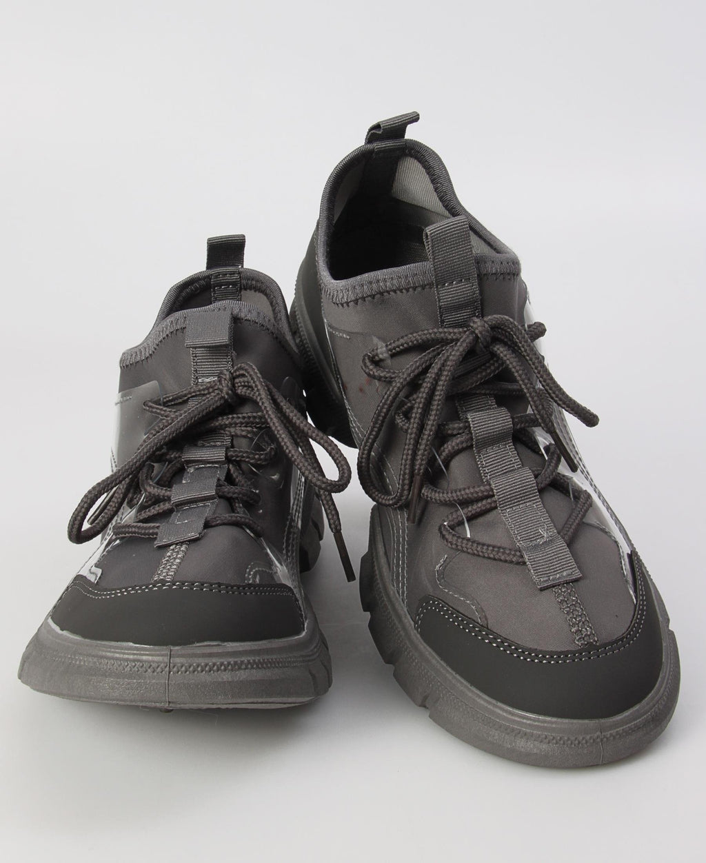 Ladies Grey Rush Sneakers - Boots