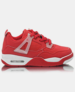Ladies' Slash Beast Sneakers - Red